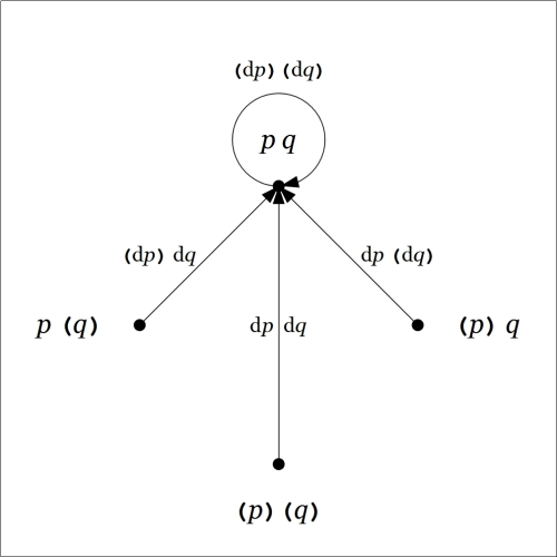 Directed Graph Enlargement pq