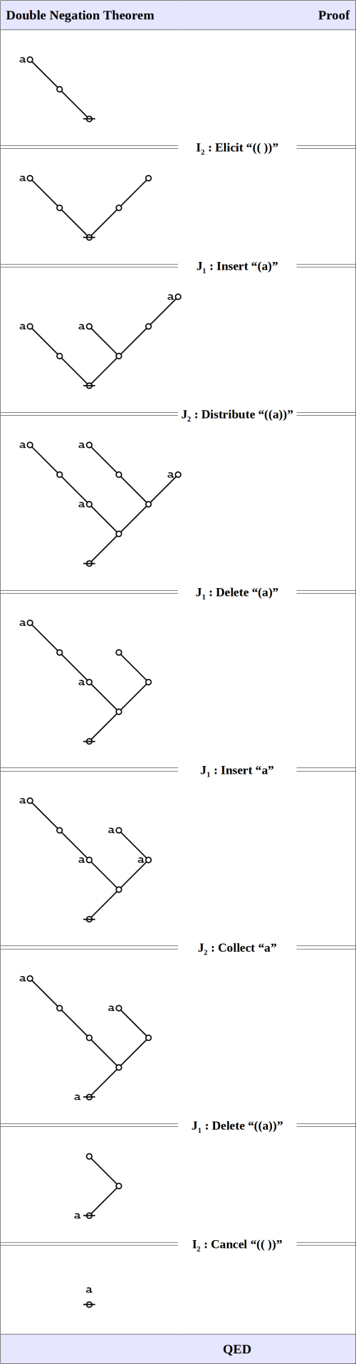 Double Negation Theorem • Proof